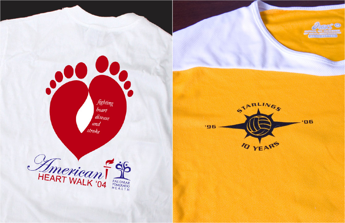 Heart design t shirt - Heart Walk Starlings T Shirts
