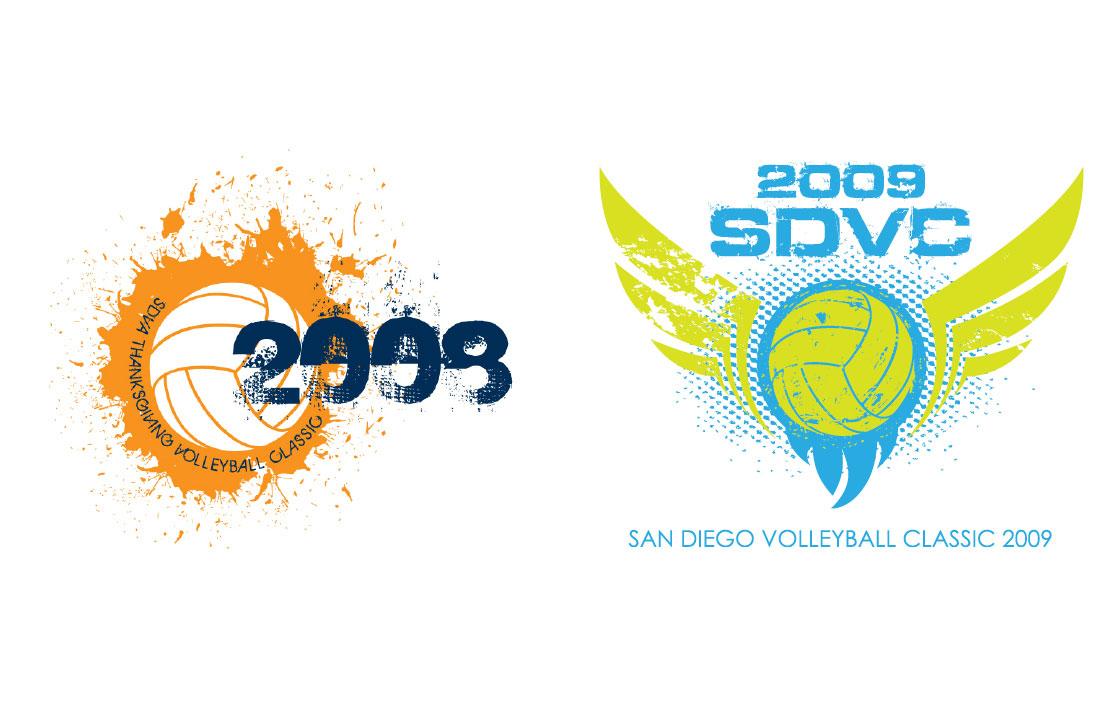 Shirt design san diego - San Diego Volleyball Classic T Shirt Designs